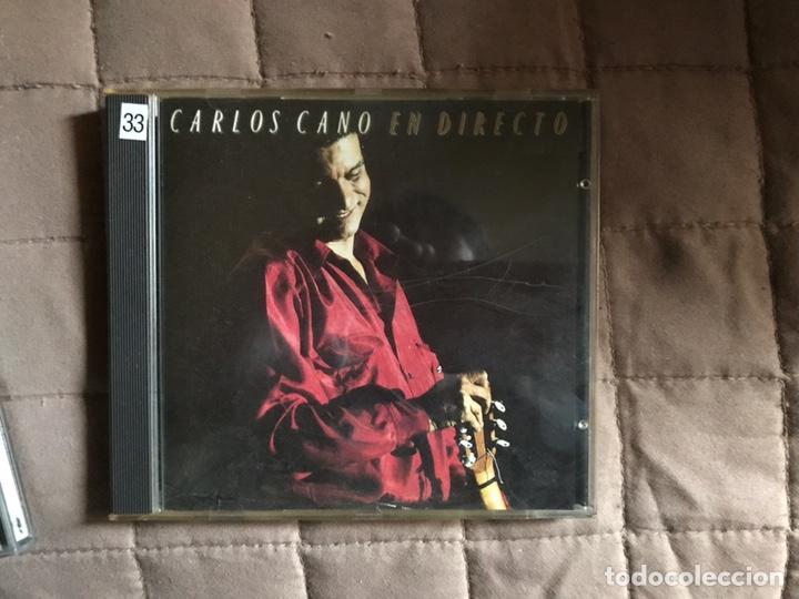 CD DE CARLOS CANO EN DIRECTO (Música - CD's Melódica )