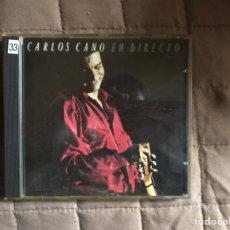 CDs de Música: CD DE CARLOS CANO EN DIRECTO. Lote 141455450