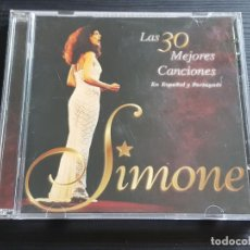 CDs de Música: SIMONE - LAS 30 MEJORES CANCIONES - EN ESPAÑOL Y PORTUGUES - DOBLE CD ALBUM - SONY - 1997. Lote 178441268