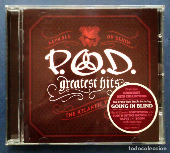 CD P  O  D  - GREATEST HITS - THE ATLANTIC 2006