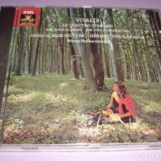 CDs de Música: ANTONIO VIVALDI / LE QUATTRO STAGIONI / ANNE-SOPHIE MUTTER / LAS CUATRO ESTACIONES / KARAJAN CD . Lote 141476890