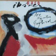 CDs de Música: PACO IBAÑEZ CANTA A JOSE AGUSTIN GOYTISOLO CD LIBRETO. Lote 141509502
