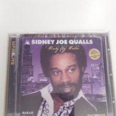 CDs de Música: SYDNEY JOE QUALLS WINDY CITY WAILER ( 2012 HARMLESS ) 15 CANCIONES EXCELENTE ESTADO. Lote 141515738
