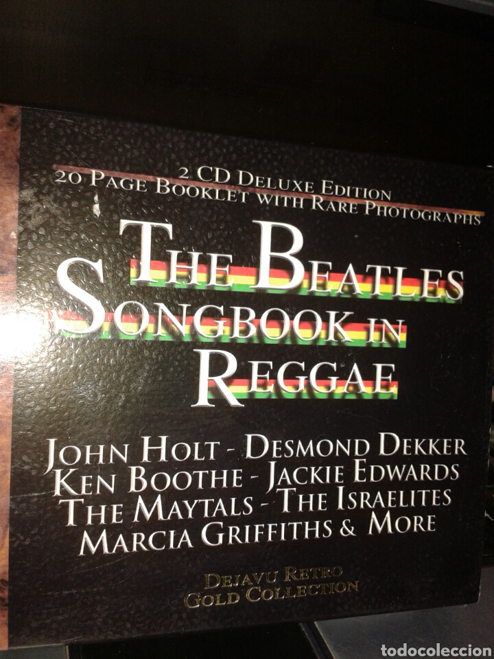 THE BEATLES SONGBOOK IN REGGAE GOL COLLECTION 2 CD