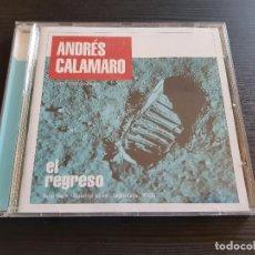 CDs de Música: ANDRÉS CALAMARO - EL REGRESO - CD ALBUM - DRO - 2005. Lote 141543046