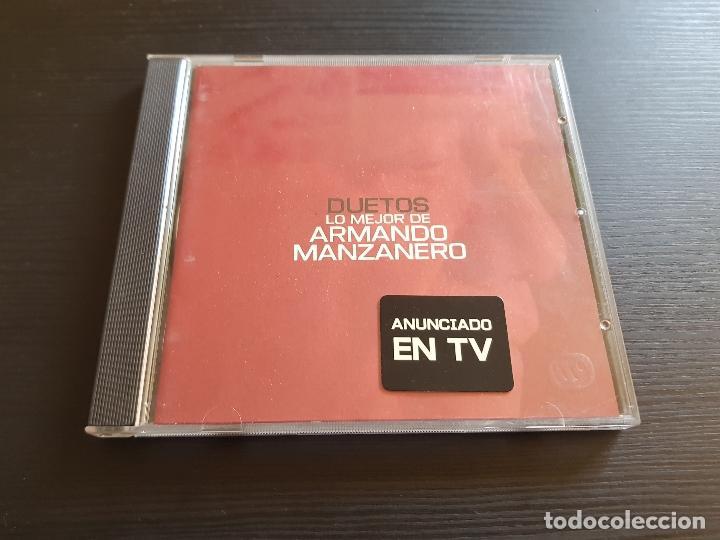 DUETOS - LO MEJOR DE ARMANDO MANZANERO - CD ALBUM - WARNER - 2000 (Música - CD's Latina)