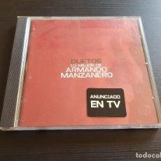 CDs de Música: DUETOS - LO MEJOR DE ARMANDO MANZANERO - CD ALBUM - WARNER - 2000. Lote 141580150