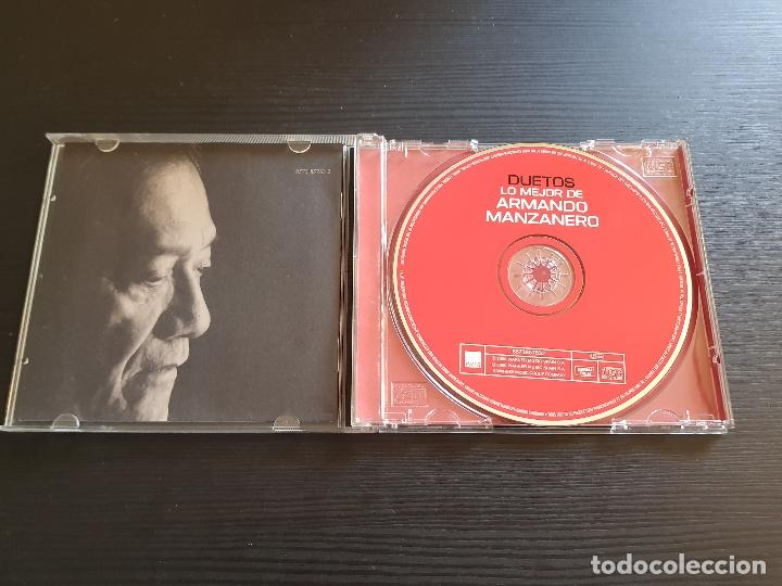 CDs de Música: DUETOS - LO MEJOR DE ARMANDO MANZANERO - CD ALBUM - WARNER - 2000 - Foto 3 - 141580150
