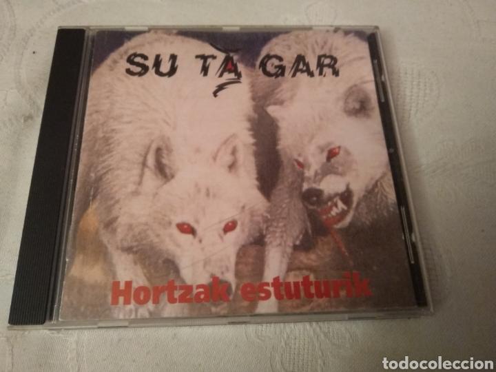 SU TA GAR. CD HORTZAK ESTUTURIK. (Música - CD's Rock)
