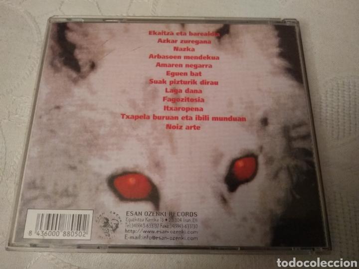 CDs de Música: SU TA GAR. CD HORTZAK ESTUTURIK. - Foto 4 - 141588585