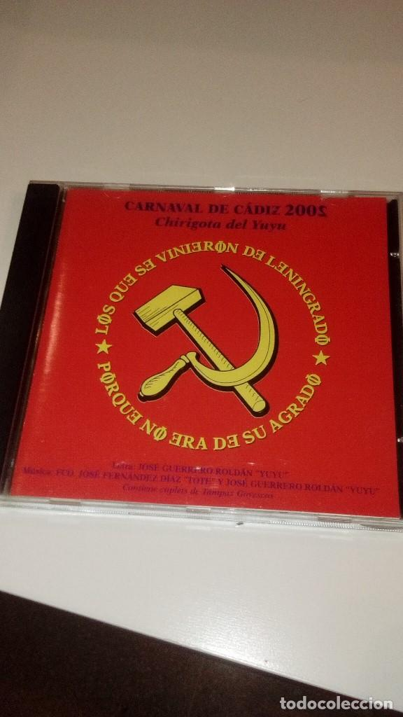 G-HAR31H MUSICA CD LOS QUE SE VINIERON DE LENINGRADO CHIRIGOTA DEL YUYU (Música - CD's Otros Estilos)