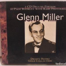 CDs de Música: GLENN MILLER - 2 X CD - DELUXE EDITION - DEJAVU RETRO GOLD COLLECTION - EX+/EX+. Lote 141612174