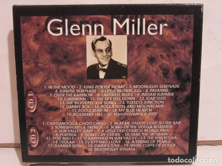 CDs de Música: Glenn Miller - 2 x CD - DELUXE EDITION - DEJAVU RETRO GOLD COLLECTION - EX+/EX+ - Foto 2 - 141612174