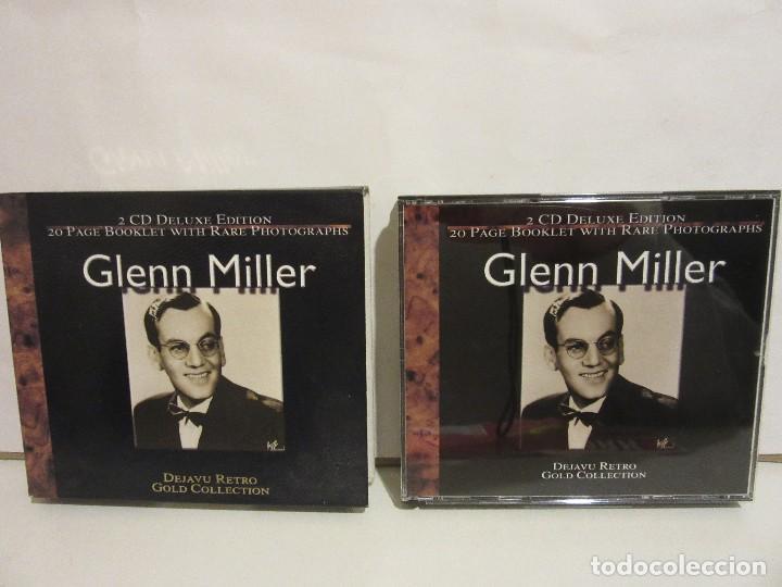 CDs de Música: Glenn Miller - 2 x CD - DELUXE EDITION - DEJAVU RETRO GOLD COLLECTION - EX+/EX+ - Foto 3 - 141612174