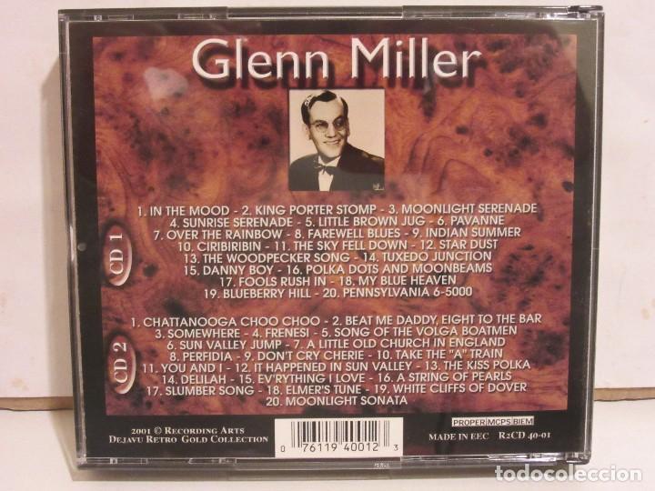 CDs de Música: Glenn Miller - 2 x CD - DELUXE EDITION - DEJAVU RETRO GOLD COLLECTION - EX+/EX+ - Foto 4 - 141612174