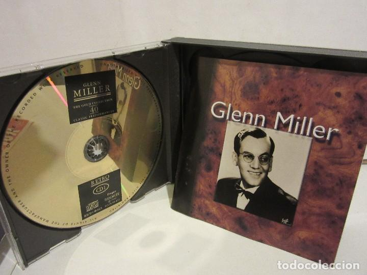 CDs de Música: Glenn Miller - 2 x CD - DELUXE EDITION - DEJAVU RETRO GOLD COLLECTION - EX+/EX+ - Foto 5 - 141612174
