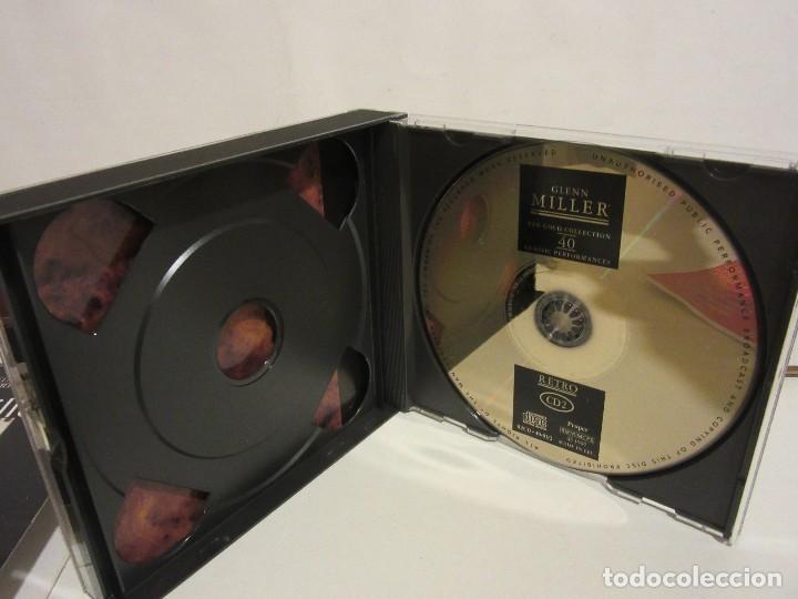 CDs de Música: Glenn Miller - 2 x CD - DELUXE EDITION - DEJAVU RETRO GOLD COLLECTION - EX+/EX+ - Foto 6 - 141612174