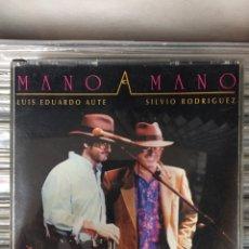 CDs de Música: MANO A MANO. LUIS EDUARDO AUTE Y SILVIO RODRÍGUEZ. Lote 147441700