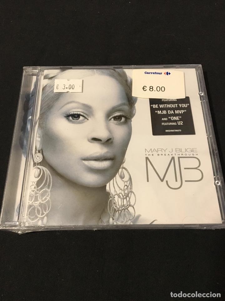 ( 666 ) MARY J BLIGE - THE BREAKTHROUGH ( cd música Segunda mano )