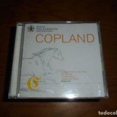 CDs de Música: AARON COPLAND. EL SALON MEXICO / FANFARE FOR THE COMMON MAN...PLANET, 2000. CD . IMPECABLE. Lote 141648670