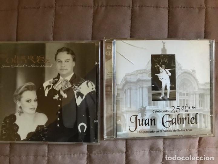 2 CDS DE JUAN GABRIEL (Música - CD's Latina)