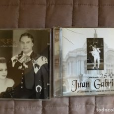 CDs de Música: 2 CDS DE JUAN GABRIEL. Lote 141651488