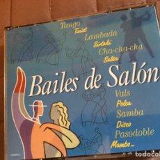 CDs de Música: CDS BAILES DE SALÓN DOBLE. Lote 141652438