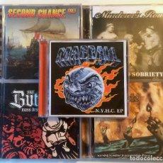 CDs de Música: LOTE 5 CDS HARDCORE OLD SCHOOL. Lote 141659870