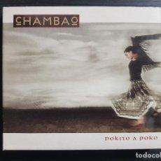CDs de Música: CHAMBAO - POKITO A POKITO - CD ALBUM + DVD - SONY - 2005. Lote 141663086