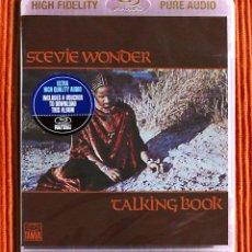 CDs de Música: STEVIE WONDER TALKING BOOK HIGH FIDELITY PURE AUDIO BLU-RAY DISC PRECINTADO. Lote 141685910