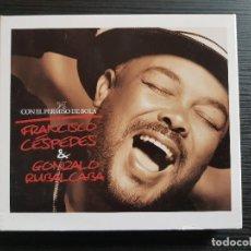 CDs de Música: FRANCISCO CESPEDÉS - CON EL PERMISO DE BOLA - CD ALBUM + DVD - WARNER - 2006. Lote 141686158