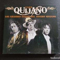 CDs de Música: CAFÉ QUIJANO - LOS GRADES EXITOS DEL SONIDO QUIJANO - CD ALBUM + DVD - WARNER - 2008. Lote 178559182
