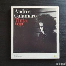 CDs de Música: ANDRÉS CALAMARO - TINTA ROJA - CD ALBUM - DRO - 2006 - LOS RODRIGUEZ. Lote 141696422