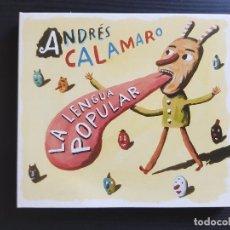 CDs de Música: ANDRÉS CALAMARO - LA LENGUA POPULAR - CD ALBUM - WARNER - 2007 - LOS RODRIGUEZ. Lote 141697062