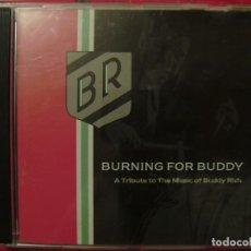 CDs de Música: BURNING FOR BUDDY.TRIBUTO A LA MUSICA DE BUDDY RICH...DIFICIL. Lote 141703014