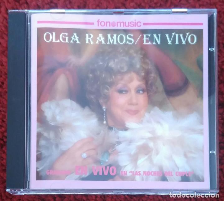 OLGA RAMOS (EN VIVO - GRABADO EN VIVO EN LAS NOCHES DEL CUPLE) CD 1993 (Música - CD's Flamenco, Canción española y Cuplé)