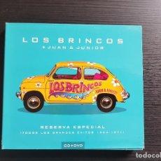 CDs de Música: LOS BRINCOS + JUAN & JUNIOR - RESERVA ESPECIAL - CD ALBUM + DVD - SONY - 2005. Lote 141730198