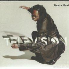 CDs de Música: BAABA MAAL - TELEVISION - CD PALM 2009 NUEVO. Lote 141769850