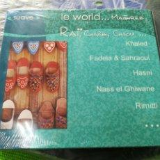 CDs de Música: LE WORLD CD MAGHREB PRECINTADO. Lote 141775876