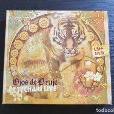 CDs de Música: OJOS DE BRUJO - TECHARÍ LIVE - CD ALBUM + DVD - DIQUELA - 2007. Lote 141785182