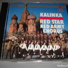 CDs de Música: RED STAR / RED ARMY CHORUS / KALINKA / COROS DEL EJERCITO RUSO / TELDEC / CD. Lote 141788894