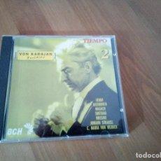 CDs de Música: VON KARAJAN INEDITO 2 CD TIEMPO MUSICA CLASICA. Lote 141791118