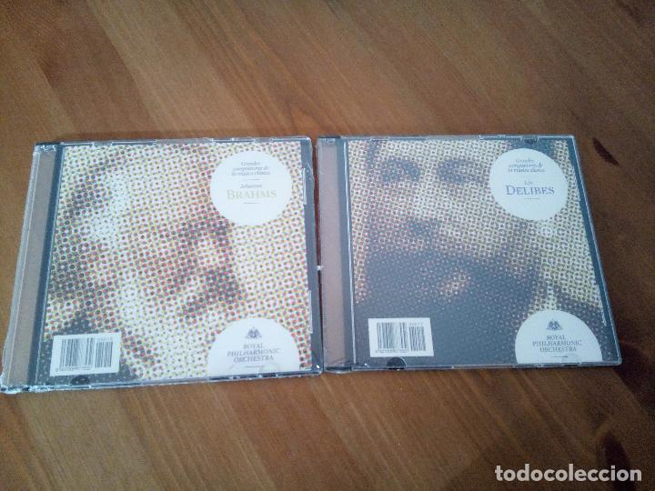 LEO DELIBES + JOHANNES BRAHMS ROYAL PHILHARMONIC ORCHESTRA CD (Música - CD's Rock)