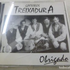 CDs de Música: GAITEIROS TREIXADURA-OBRIGADO-CD-N. Lote 141813106