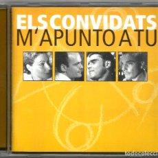 CDs de Música: ELS CONVIDATS - M'APUNTO A TU (CD) 2001 - CANÇÓ CATALANA. Lote 141822130