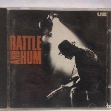CDs de Música: CD U2 RATTLE AND HUM. Lote 141823810