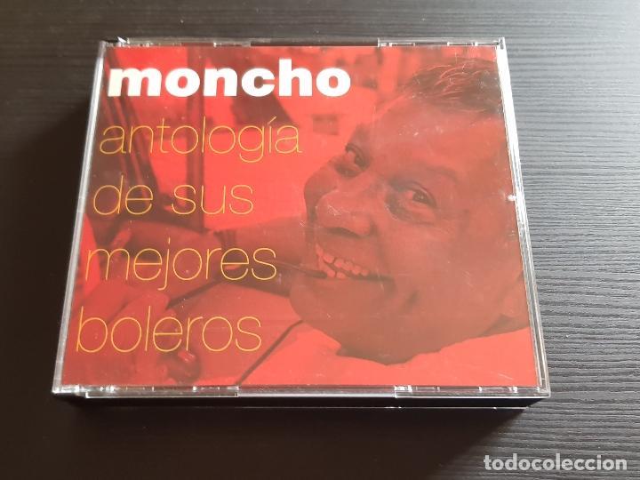 MONCHO - ANTOLOGÍA DE SUS MEJORES BOLEROS - DOBLE CD ALBUM - BMASB - 2004 (Música - CD's Latina)