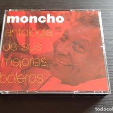 CDs de Música: MONCHO - ANTOLOGÍA DE SUS MEJORES BOLEROS - DOBLE CD ALBUM - BMASB - 2004. Lote 141838002