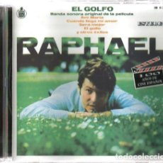 CDs de Música: CD RAPHAEL : EL GOLFO, BANDA SONORA ORIGINAL DE LA PELICULA. Lote 141840078