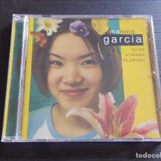 CDs de Música: MANOLO GARCÍA - NUNCA EL TIEMPO ES PERDIDO - CD ALBUM - BMG - 2001 - EL ÚLTIMO DE LA FILA. Lote 141840878